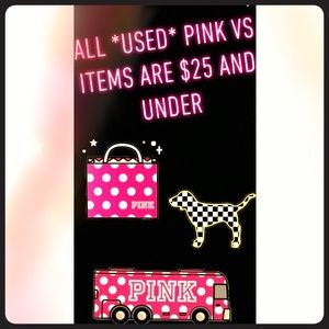 Promotion until all PINK items sell :)